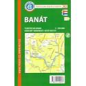 KČT Banát 1:100 000 turistická mapa