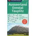 Kompass 68 Ausseerland, Ennstal, Tauplitz 1:50 000 turistická mapa