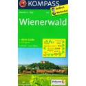 Kompass 209 Wienerwald 1:50 000 turistická mapa