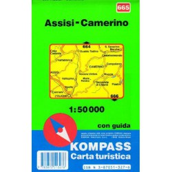 Kompass 665 Assisi, Camerino 1:50 000