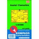 Kompass 665 Assisi, Camerino 1:50 000 turistická mapa