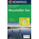 Kompass 215 Neusiedler See/Neziderské jezero 1:50 000 turistická mapa