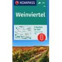 Kompass 204 Weinviertel 1:50 000 turistická mapa