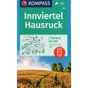 Kompass 201 Innviertel, Hausruck 1:50 000 turistická mapa