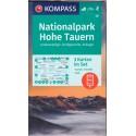Kompass 50 NP Hohe Tauern/Vysoké Taury 1:50 000 turistická mapa