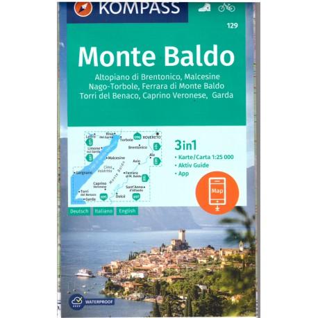 Kompass 129 Monte Baldo 1:25 000
