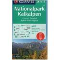 Kompass 70 NP Kalkalpen, Ennstal, Steyrtal, Pyhrn-Priel-Region 1:50 000 turistická mapa