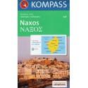 Kompass 246 Naxos 1:40 000 turistická mapa