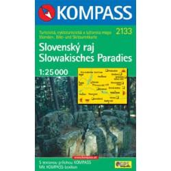 Kompass 2133 Slovenský ráj 1:25 000