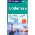 Kompass 11 Bodensee/Bodamské jezero 1:35 000 turistická mapa