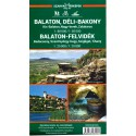 DIMAP Balaton 1:80 000 turistická mapa