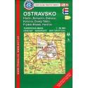 KČT 61-62 Ostravsko 1:50 000 turistická mapa