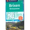 Kompass 56 Brixen/Bressanone 1:50 000 turistická mapa