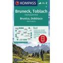 Kompass 57 Bruneck/Brunico, Toblach/Dobbiaco 1:50 000 turistická mapa