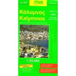 ORAMA 323 Kalymnos 1:25 000