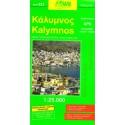 ORAMA 323 Kalymnos 1:25 000 turistická mapa