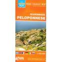 ORAMA Peloponnese/Peloponés 1:450 000 automapa