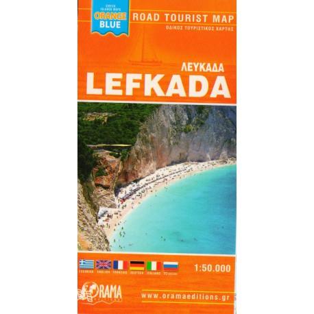 ORAMA Lefkada 1:55 000 turistická mapa