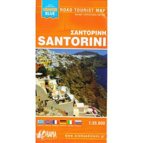 ORAMA Santorini 1:35 000