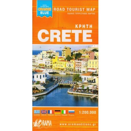 ORAMA Crete/Kréta 1:200 000