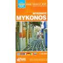 ORAMA Mykonos 1:35 000 turistická mapa