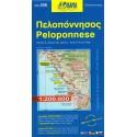 ORAMA 056 Peloponnese/Peloponés 1:200 000 automapa
