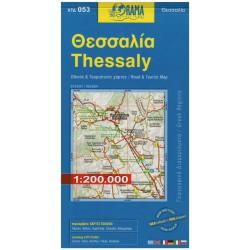 ORAMA 053 Thessaly/Thessálie 1:250 000
