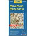 ORAMA 052 Macedonia/Řecká Makedonie 1:250 000 automapa