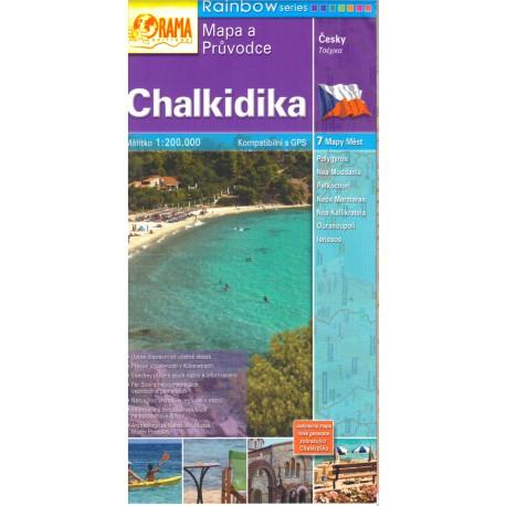 ORAMA Chalkidika/Chalkidiki 1:200 000
