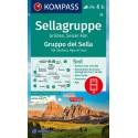 Kompass 59 Sellagruppe/Gruppo di Sella 1:50 000 turistická mapa