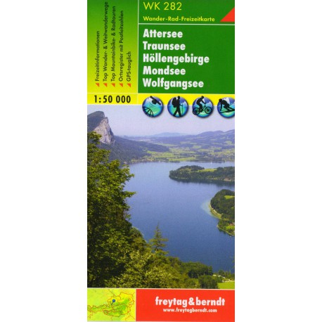 Freytag a Berndt WK 282 Attersee 1:50 000
