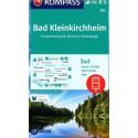 Kompass 063 Bad Kleinkirchheim 1:25 000 turistická mapa
