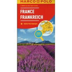 Marco Polo Francie 1:800 000 automapa