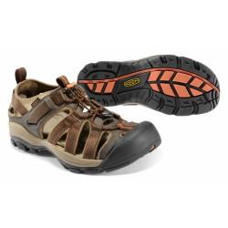 Keen Owyhee M slate black/rust pánské outdoorové sandály i do vody