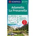 Kompass 71 Adamello, La Presanella 1:50 000 turistická mapa