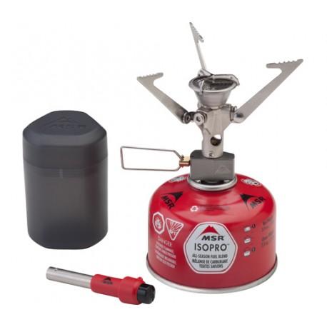 MSR MicroRocket plynový vařič