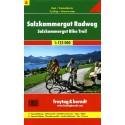 Freytag a Berndt 4 Salzkammergut Radweg 1:125 000 cykloturistická mapa