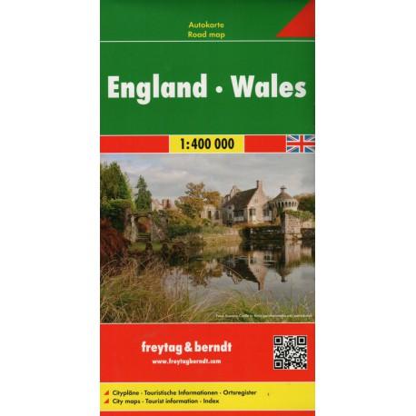 Freytag a Berndt Anglie, Wales 1:400 000