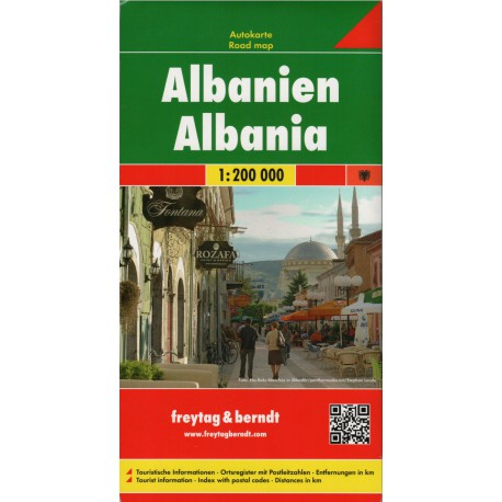 Freytag a Berndt Albánie 1:200 000