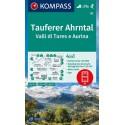 Kompass 82 Taufers/Tures, Ahrntal/Valle Aurina 1:50 000 turistická mapa