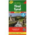 Freytag a Berndt Tyrolsko 1:150 000 automapa