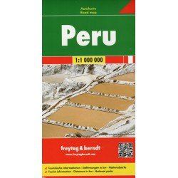 Freytag a Berndt Peru 1:1 000 000