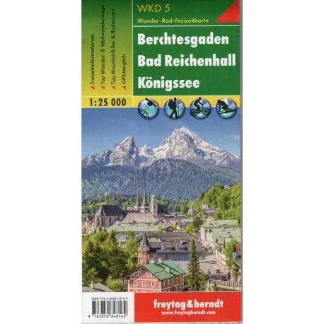 Freytag a Berndt WK D5 Berchtesgaden, Bad Reichenhall, Königsee 1:25 000