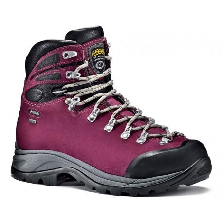 Asolo Tribe GV ML GTX grapeade dámské nepromokavé kožené trekové boty