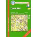 KČT 59 Opavsko 1:50 000 turistická mapa