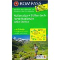 Kompass 072 Nationalpark Stilfser Joch 1:50 000 turistická mapa