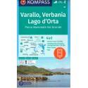 Kompass 97 Varallo, Verbania, Lago d'Orta 1:50 000 turistická mapa