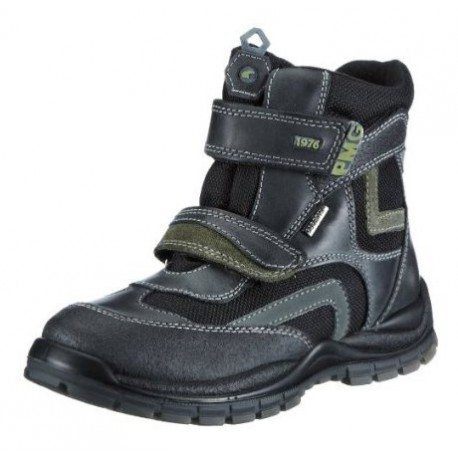 Primigi Matis GTX Kids black/green/grey 9711077 (5)