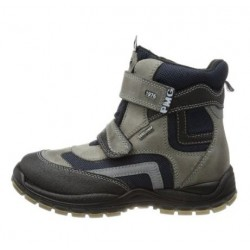 Primigi Matis GTX Kids black/dark grey/blue 9711277 dětské zimní nepromokavé boty