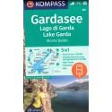 Kompass 102 Lago di Garda, Monte Baldo 1:50 000 turistická mapa